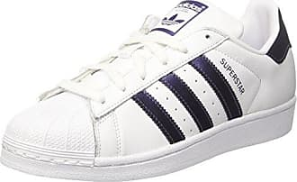 Adidas Superstar, Zapatillas para Mujer, Blanco (Footwear White/Cyber Metallic/Footwear White 0), 40 2/3 EU adidas