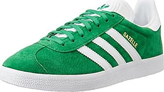 adidas Unisex-Erwachsene Gazelle Sneakers, Pink (Vapour Pink/White/Gold Met), 46
