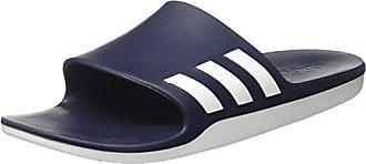 adidas Unisex-Erwachsene Aqualette CF MUFC Zehentrenner, Mehrfarbig (Negbas/Negbas/Negbas), 46 EU