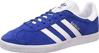 Adidas Gazelle J, Zapatillas de Deporte Unisex Adulto, Azul (Reauni/Ftwbla/Ftwbla 000), 38 2/3 EU