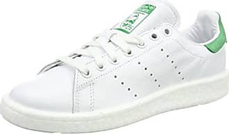 Adidas Stan Smith W, Zapatillas para Mujer, Blanco (Footwear White/Footwear White/Noble Indigo 0), 36 2/3 EU adidas