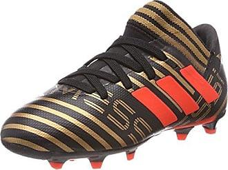 Adidas Nemeziz Messi 17.1 FG J, Botas de Fútbol Unisex Adulto, Gris (Gris/Ftwbla/Negbas 000), 38 2/3 EU