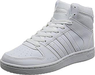 adidas VS Hoopster Mid W Damen Sportschuhe, Weiß&nbsp;<img src=