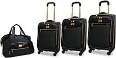 Adrienne Vittadini Barnett Nylon 4-Piece Luggage Set - Denim - Size:L