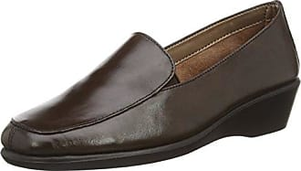 Aerosoles Four William ANAFI Mocasines Mujer, Silber (Gun Metal), 41 EU (7.5 UK)