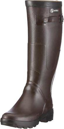 Aigle - Botas de Caucho Hombre, Marrón (Marron (Ambre)), 37 EU