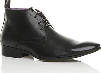 Ajvani Herren Schnüren Kontrast Formal Budapester Brogue Spitze Schuhe Größe 9 43