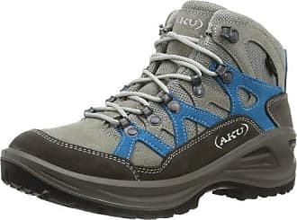 AKU GEA GTX WS, Damen Trekking- & Wanderstiefel, Grau (Grey/Magenta), 41 EU (7 Damen UK)