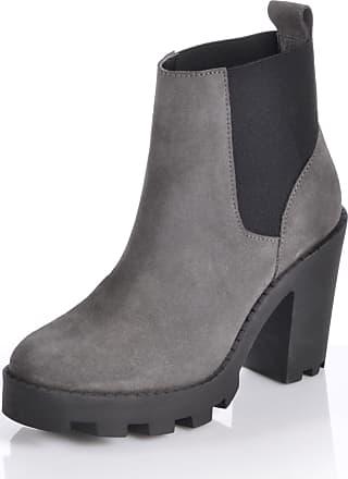 Zanpa Damen Winterrschuhe Moda Plateau Stiefel Gefuttert fur 35 Size Grey