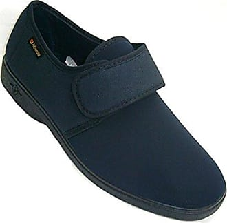 Man Schuh sehr komfortabel Lycra gesamte Schaufel Alberola marineblau größe 45