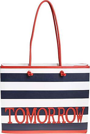 White and blue Tomorrow shopper Alberta Ferretti