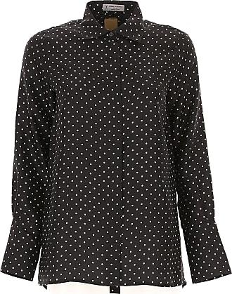 Shirt for Women On Sale, Black, Triacetate, 2017, 28 Alberto Biani