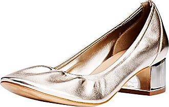 Gem - Zapatos de Tacón Mujer, Color Dorado, Talla 37 1/3 Kurt Geiger