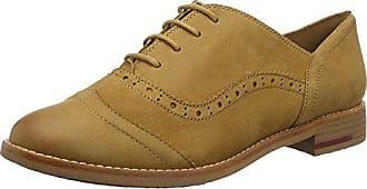 Marc O'Polo Lace Up Shoe 80114453401102, Zapatos de Cordones Oxford para Mujer, Gris (Taupe), 38 EU