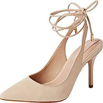 Nena Leather, Zapatillas para Mujer, Blanco (Metallic Galaxy White ZJ8), 39 EU Maruti