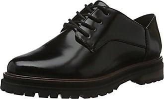Mentor Mentor Brogue Shoe - Zapato Brogue de Piel Mujer, Color Verde, Talla 37