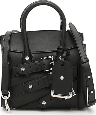 Alexander McQueen Tote Bag, Black, Leather, 2017, one size