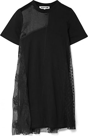 Alexander Mcqueen Woman Layered Stretch-jersey Gown Black Size 38 Alexander McQueen