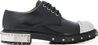 Scarpe brogue con punta metallica - Black Alexander McQueen