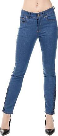 19 cm Vintage Effect Denim Jeans Spring/summer Alexander McQueen