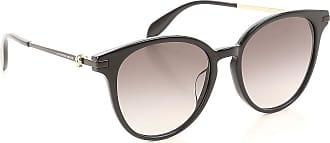 Sunglasses On Sale, Pink Havana, 2017, one size Alexander McQueen
