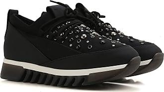 Zapatillas Deportivas de Mujer, Deportivas Baratos en Rebajas, Oro Bronce, Piel, 2017, 36 37 38 Alexander Smith