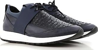 Sneaker für Herren, Tennisschuh, Turnschuh Günstig im Sale, Nachtblau, Leder, 2017, 41 42 Alexander Smith