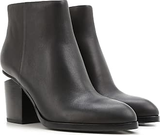 Boots for Women, Booties On Sale, Black, Fabric, 2017, 8.5 Alexander Wang