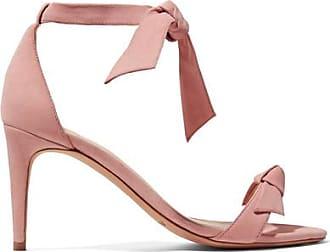 Sandales En Daim à Noeuds Clarita - Rose pâleAlexandre Birman