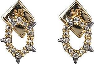 Alexis Bittar Crystal Encrusted Spiked Stud Earring