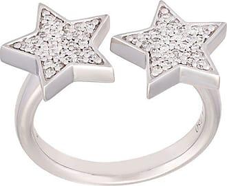 Alinka Stasia diamond star ring - Metallic