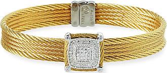 Alór Blue Topaz Single-Station Bangle Bracelet