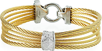 Alór Triple Cable Bangle w/ Diamond Pavé