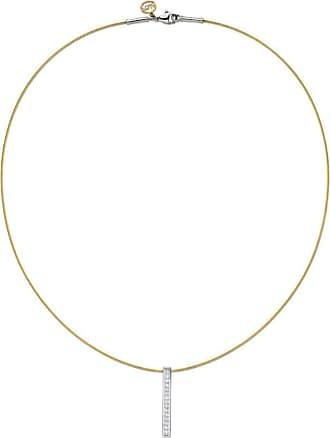Alór 18kt White Gold & Stainless Steel Noir Diamond Circle Drop Earrings