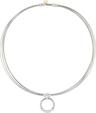 Alór Multi-Row Square Diamond Pendant Necklace