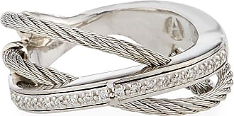 Alór Layered Triple-Band Diamond Ring, Size 6.5