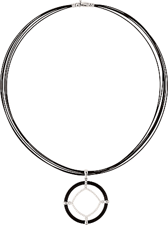 Alór Noir Steel & 18k Diamond Multi-Cable Necklace