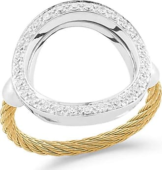 Alór Layered Triple-Band Diamond Ring, Rose, Size 6.5