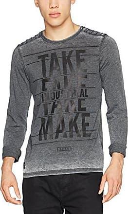 L/s Cotton Blend, Sweat-Shirt Homme, Gris (Grey 501), LargeBenetton