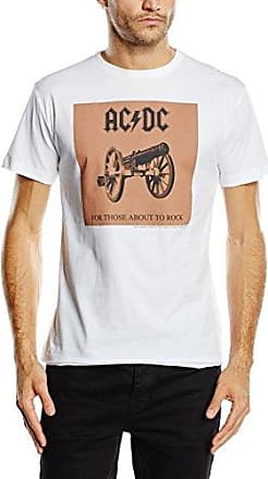 Mens Acdc Dirty Deeds Cover Short Sleeve Sports Shirt Amplified