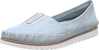 Andrea Conti 0023535, Mocasines para Mujer, Azul (Dunkelblau 017), 38 EU