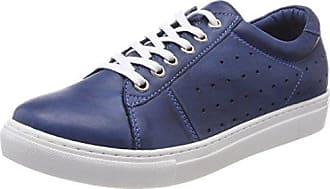 Andrea Conti 0345724, Zapatillas para Mujer, Azul (Dunkelblau 017), 40 EU