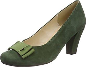 3005701, Zapatos de Tacón con Punta Cerrada para Mujer, Verde (Tanne 147), 35 EU Hirschkogel