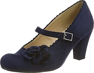 3002724, Escarpins Bout Fermé Femme, Bleu (Dunkelblau 017), 38 EUHirschkogel