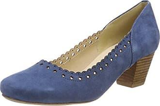 3123400, Ballerines Bout Fermé Femme, Bleu (Jeans 274), 40 EUHirschkogel