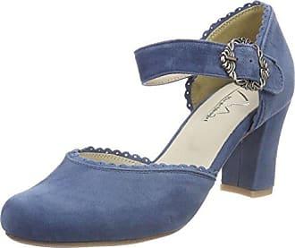 3005701, Escarpins Bout Fermé Femme, Bleu (Jeans 274), 35 EUHirschkogel