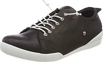Andrea Conti 0342745, Zapatillas Mujer, Verde (Khaki), 38 EU