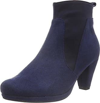 Hassia Fermo, Weite G, Zapatillas de Estar por Casa para Mujer, Azul (9100 Nachtblau), 37.5 EU