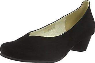 Andrea Conti 1550500, Zapatos de Tacón con Punta Cerrada para Mujer, Negro, 37 EU
