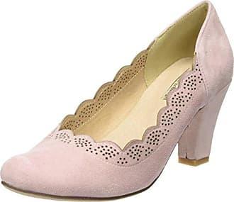 Zapatos rosas de punta abierta ANDREA CONTI para mujer HEGP1ZVs
